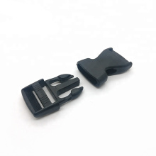 Wholesale Factory High Quality Black Quick Custom Adjustable Fashion Buckle Plastic Snap Buckle Release Quick Buckle