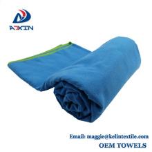 China Supplier Custom 50x100cm Travel Sport Suede Microfiber Towel
