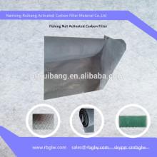 Кондиционер активированного угля губчатый фильтр сетки рыболовная сеть