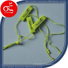 Étiquette en plastique de sceau de chaîne de mode de 2015 pour le vêtement