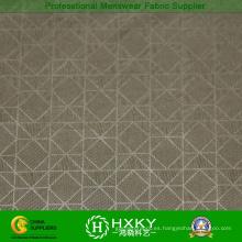 100% poliéster geométrico patrón realzada tela para la chaqueta de Men′s