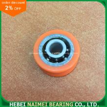 Хорошее качество Малые резиновые колеса с подшипниками 608 подшипников