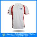 Cheap Custom Men Plain White Printing Polo T-Shirt for Sports