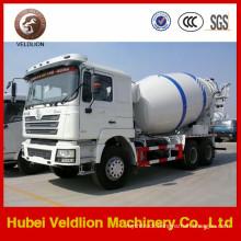 340HP LHD Portable Concrete Mixer Truck