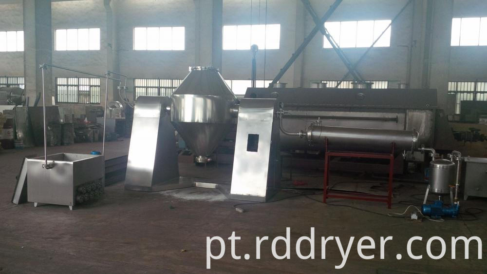 Low Temperature Cone Vacuum Dryer