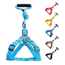 Foam Handle Heavy Duty dog Leash with Harness
