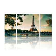 Парижская Эйфелева башня Картина / Холст Art для украшения стены / Multi-панели холст Wall Art