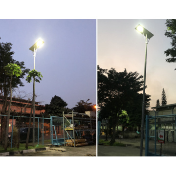 80W Bersepadu Lampu Jalan Solar All In One