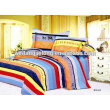 100% cotton print fabric for bedding set