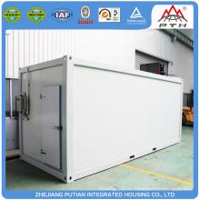 Rápida construcción baratos unidades de almacenamiento prefabricadas de panel sándwich EPS / PU / XPS