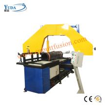 Machine de découpe de tubes en plastique HDPE