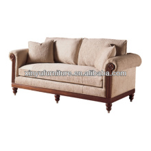 Master bedroom wooden hotel sofa XY0926