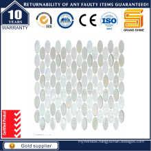 Oval Shape Glass Mosaic Kse9308