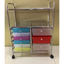 Stainless steel multi-function storage trolley