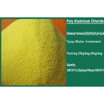 Superior Quality 30% PAC Poly Aluminium Chloride Factory Sales