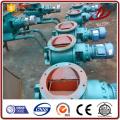 CNP-Rotationsventil mit dem Aschebehälter verbinden