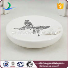 YSb40094-01-sd Butterfly bathroom shower soap dish