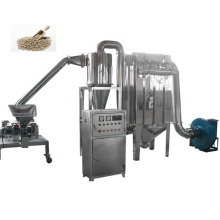 Superfine powder making hammer mill  grinder machine with dust removal bag  for  herb root powder