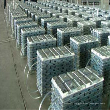 Lingot de zinc 99,995% Lingots spéciaux de haute qualité de zinc