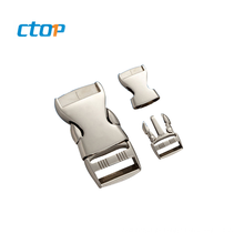 Wholesale high quality metal quick release buckle custom fashion bag buckle