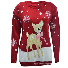 PK17ST090 BABY REINDEER CHRISTMAS LONG SLEEVE JUMPER KNITTED XMAS SWEATER UK SIZE