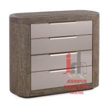 Gabinete de madera con cajones