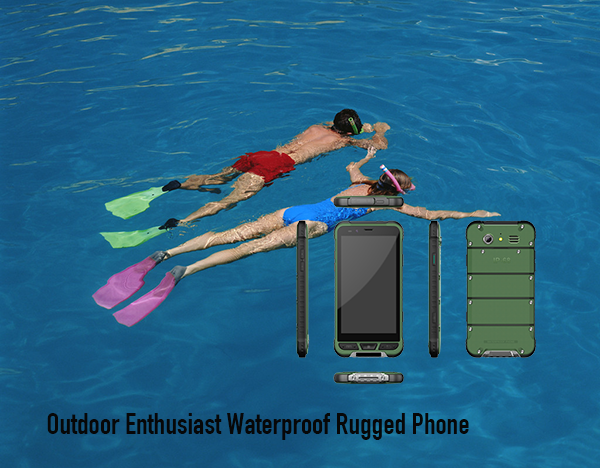 Outdoor Enthusiast Waterproof Rugged Phone