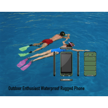 Outdoor Enthusiast Wasserdichtes robustes Telefon