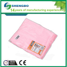 Microfiber silver cleaning cloth