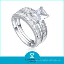 Anel de imitação de qualidade superior feito de prata (SH-R0133)