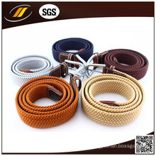High Quality Mens Braided Elastic Stretch Belts for Jean (HJ3015)
