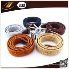 Cintos de estiramento elástico trançados para homens de alta qualidade para Jean (HJ3015)