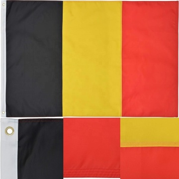 Hot Selling New Design Gute Standard belgische Flagge