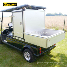 Customize bins 2 seater electric golf cart club car golf cart utility vehicle