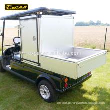 Personalizar escaninhos 2 seater carrinho de golfe elétrico clube carro carrinho de golfe veículo utilitário