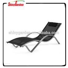 Chaise longue de patio de forme en aluminium de patio de Patio