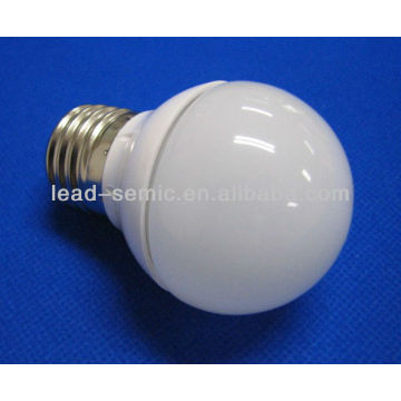 E27 cobertura de geada SMD luz de bola de plástico LED