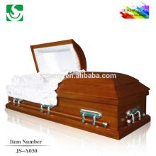 Recommandé l'entreprise de meubles pour le cercueil en bois massif haute qualité