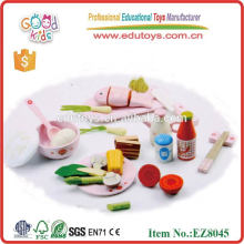 Toys for Kid Wood Chinese Lunch