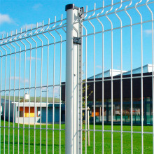 plastic coated bending welded wire mesh fence