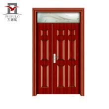 Puertas de entrada de la puerta del apartamento de madera de acero respetuosas del medio ambiente con calidad garantizada