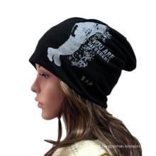 Moda Impresso Algodão Malha Inverno Quente Ski Sports Hat (YKY3134)