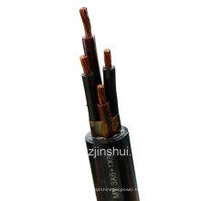 Multi-Core General Rubber Flexible Mine Cable (3-6+1-6)