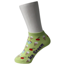 Light Green Kid's Boots Socken