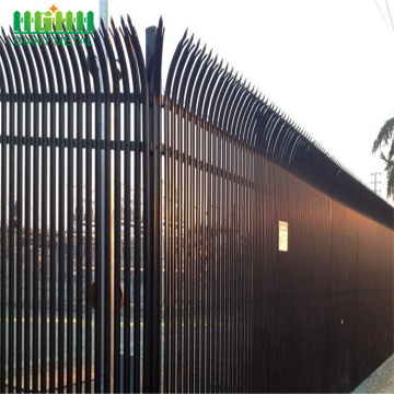 security palisade fence color coated cheap supply