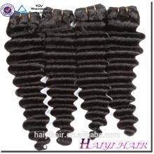 Aucun embrouillement non retourné non transformés vierge de cheveux humains malaisiens de cheveux de Vierge