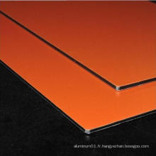Globond plus panneau composite en aluminium PVDF (PF052)