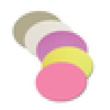 Différentes belles couleurs en option fibre optique film de polissage 1um 3um 9um à prix abordable