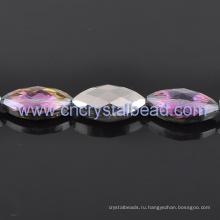 Оптовые продажи фиолетовый, покрытие ограненные хрустальные бусины для ювелирных изделий