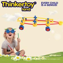 Bloc de construction de jouets créatifs pour enfants en forme de voiture